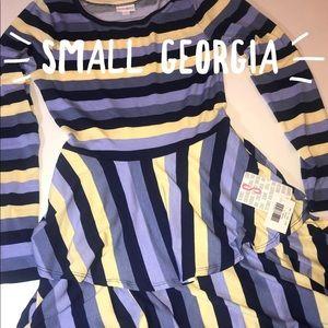 LuLaroe small Georgia dress nwt!